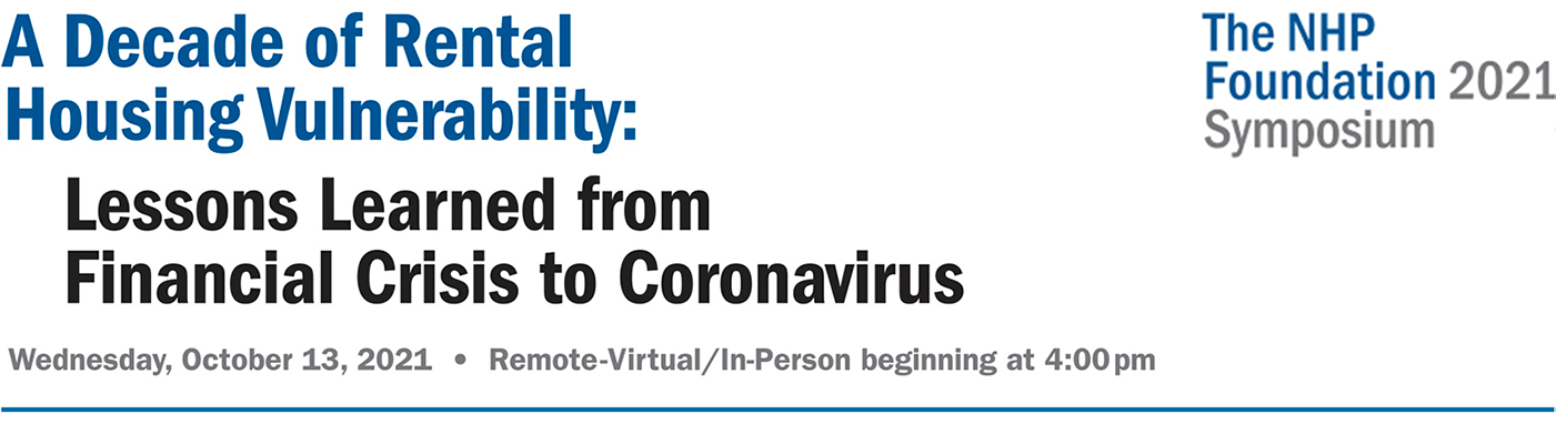 A Decade of Rental Housing Vulnerability: Lessons Learned from Financial Crisis to Coronavirus