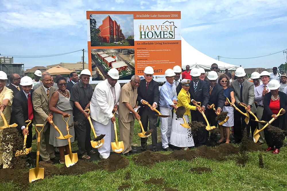 Harvest Homes Apartments Groundbreaking Ceremony