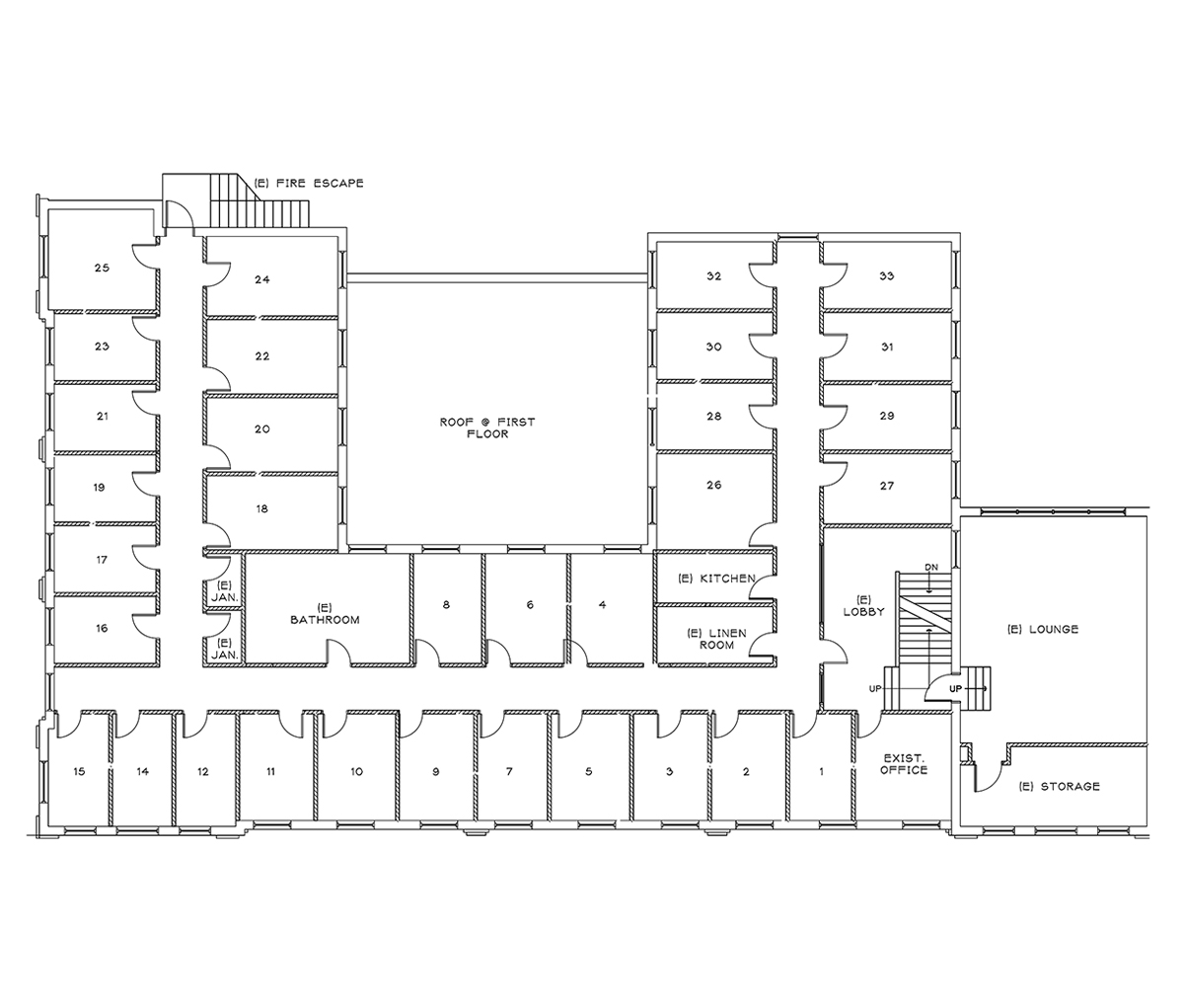 First Floor Apartments