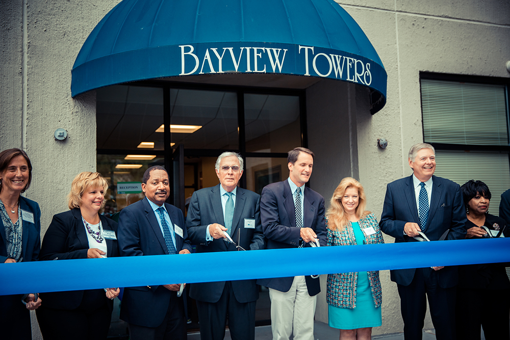 Bayview Towers Apartments Ribbon Cutting Ceremony