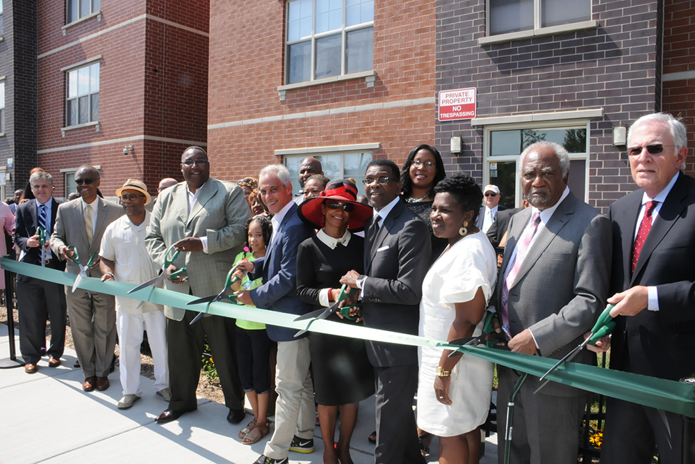 Harvest Homes Apartments Ribbon Cutting Ceremony